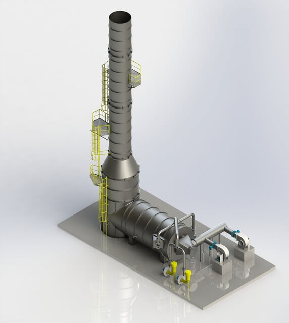 Gas Usage Calculator >> Thermal Oxidizers - Direct-Fired and Recuperative Oxidizers